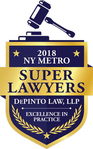 2018 NY Metro Super Lawyers List - DePinto Law, LLP